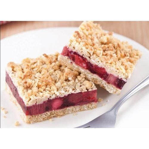 The Original Cakerie Triple Berry Crumble Dessert Bar -- 2 per case. (Nanaimo Bars compare prices)