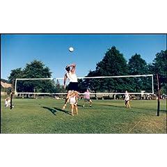 Buy Cobra Lifetime Warranty guy wire free 3-in-1 game volleyball, beach tennis & badminton net system. by Cobra Sports