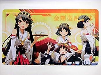艦隊これくしょん カードゲーム プレイマット デスクマット 金剛型四姉妹