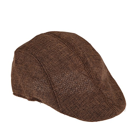 vktech-gorras-plana-racing-sombrero-beret-con-el-estilo-de-retro-para-los-hombres-color-marron