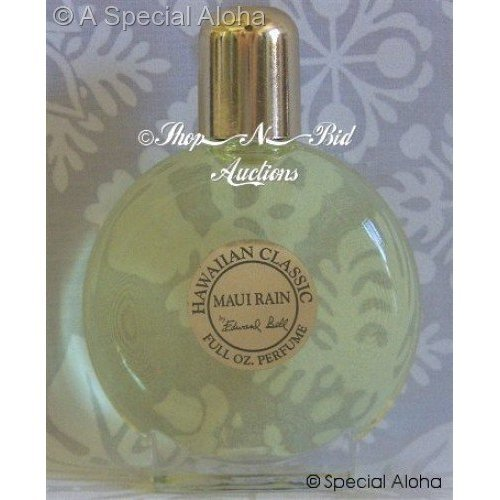 Hawaiian Maui Rain Perfume in Clear Glass Bottle 1 oz by Edward Bell (Maui Rain Perfume compare prices)