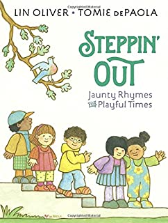 Book Cover: Steppin' Out: Playful Rhymes for Toddler Times