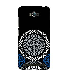 Fixed Price Printed Back Cover For Zenfone Max (Multicolor)