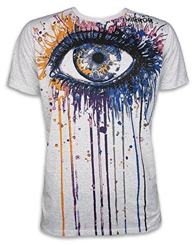 mirror-by-sure-camiseta-para-hombre-grau-vintage-medium