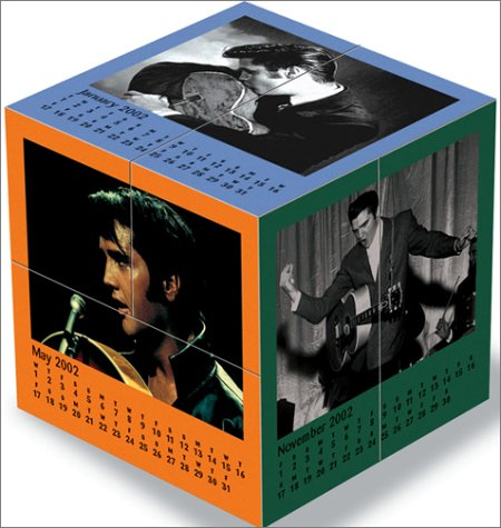 Mental Block Elvis Presley 2002 Calendar and Desk Toy