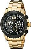 """Invicta Men's 15896 """"Speedway"""" 18k Gold-Plated Watch"""