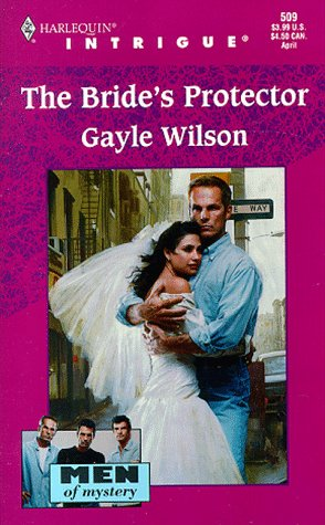 Image for Bride's Protector (Men Of Mystery) (Harlequin Intrigue, No. 509)