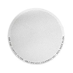 Able Brewing DISK FINE Coffee Filter for AeroPress Coffee & Espresso Maker - stainless steel reusable- made in USA by Able Brewing Equipment