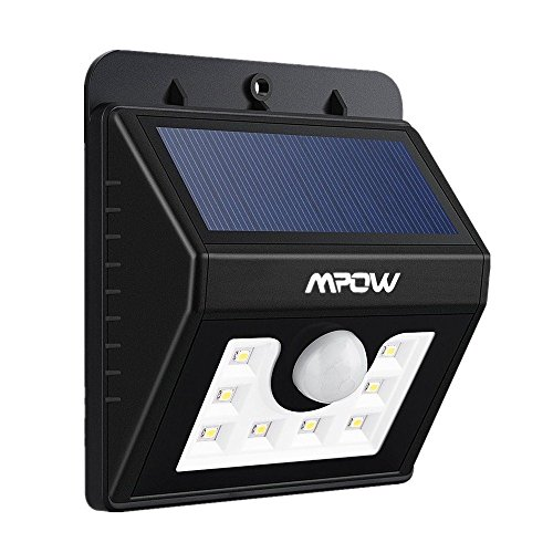Mpow Bright LED Solar light, Security Lighting Outdoor Motion Sensor Lighting for Garden, Patio, Fencing, and Pathway (Patio Motion Sensor compare prices)