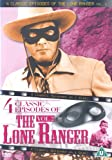 The Lone Ranger - 4 Classic Episodes - Vol. 2 - Pete And Pedro / The Renegades / High Heels / Six Guns Legacy [DVD]