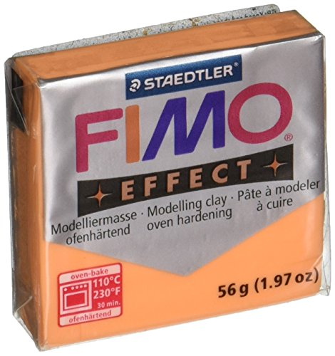 Fimo Soft Polymer Clay 1.97 Ounces-8020-404 Transparent Orange (Polymer Clay Fimo Classic compare prices)