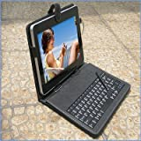 SANOXY Keyboard Receptacle with Stylus Pen for 10inch Superpad/Flytouch Android Capsule PC