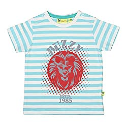 Buzzy Baby-Boys' Cotton T-Shirt (Mint,9-12M)