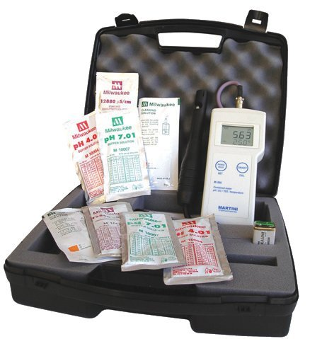 Milwaukee MI806 Multi-range pH/EC/TDS and Temperature meter by Milwaukee