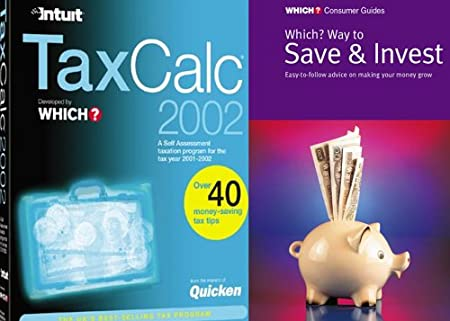 TaxCalc Standard 2002 with free Which? Way to Save & Invest Book