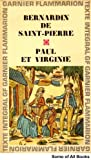 img - for Bernardin De Saint-Pierre book / textbook / text book