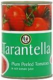 Tarantella Peeled Plum Tomatoes 400 g (Pack of 12)
