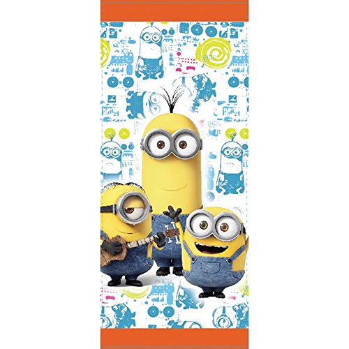 Wilton 1912-4600 16 Count Despicable Me Minions Treat Bags, Yellow - 1