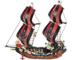 Sluban Pirate Black Pearl 632 Piece Building Block Set Lego Compatible