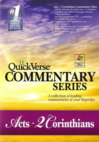 Quick Verse Series Acts - 2 Corinthians #2