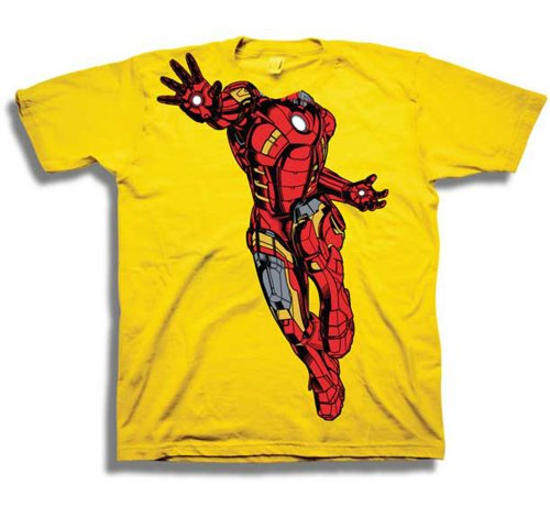Iron Man Marvel Comics Costume Tony Stark Toddler T-Shirt - Small