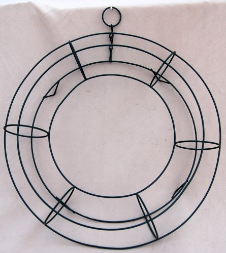 11' Wire Wreath Frame - Round Living Wreath Form Case of 20 ...
