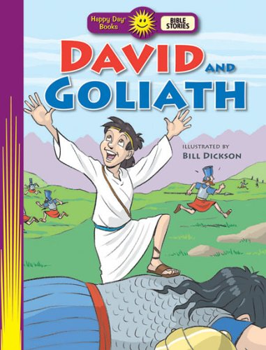 David and Goliath (Happy Day Books Bible Stories, Happy Day Books Bible Stories)