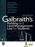 img - for Galbraith's Building and Land Management Law for Students book / textbook / text book