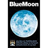 Football Posters: Manchester City - Blue Moon - 91.5x61cm Poster Print, 24x36
