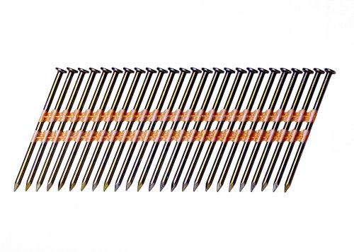 Grip-Rite GR408HG Round Head 3-Inch by .120-Inch by 21 Degree Plastic-Collated Hot-Dip-Galvanized Framing Nail (4,000 per Box)
