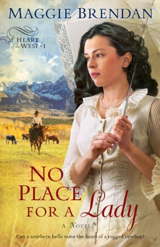 No Place for a Lady (Heart of the West Series, Book 1)