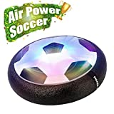 EpochAir Hover Ball Toys for Boys Gifts, Hover Soccer Football Toy with LED Light and Foam Bumpers Indoor Outdoor Game Ideas for 5 6 7 8 11 Year Old Boy Girl Gift.