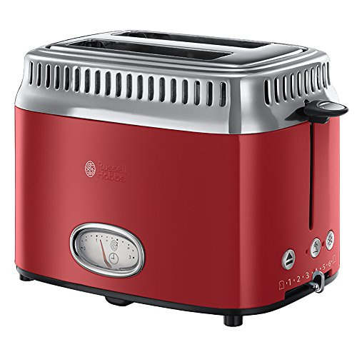 Russell Hobbs 21680-56 Retro Collection Tostapane, Red Ribbon