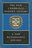 img - for The New Cambridge Modern History, Vol. 1: The Renaissance, 1493-1520 book / textbook / text book