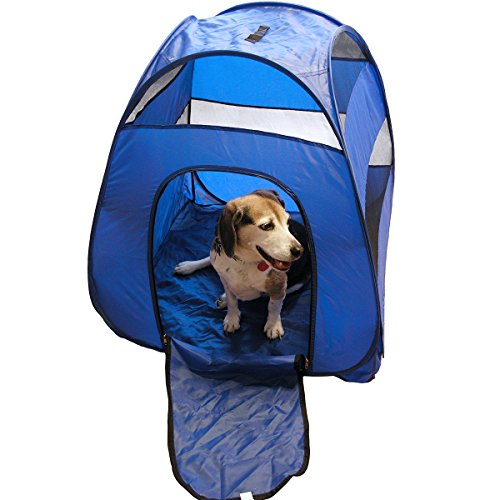 Portable Pop Up Pet Tent - Perfect For Camping