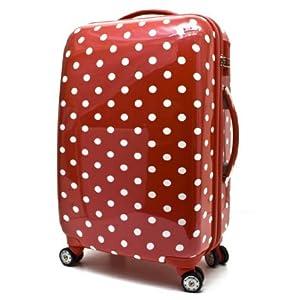 34a67ee029a hartschalen koffer reisekoffer trolley zahlenschloss lonicera rot 90 liter  8040