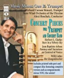img - for Music Minus One Trumpet: Concert Pieces for Trumpet and Concert Band book / textbook / text book