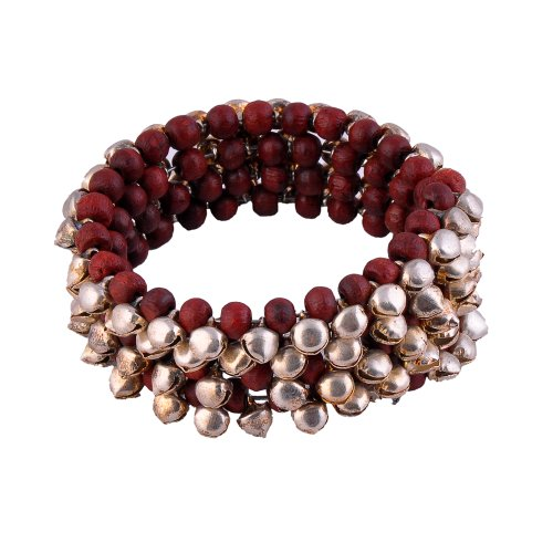 Monisha Daga Jingles Maroon Bracelet BT33-S for Women