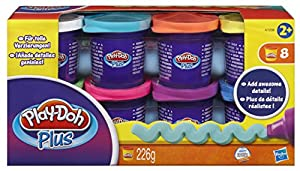 Play-Doh Plus Modelling Clay (Set of 8 Tubs)