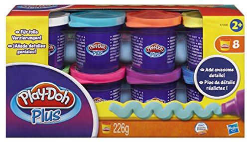 Hasbro A1206E24 - Play-Doh Plus 8er Pack - Knete