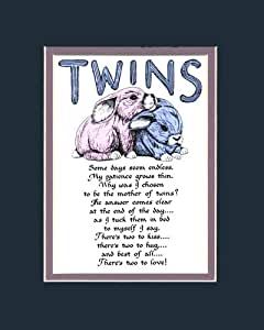 Twins saying home decor wall sign home kitchen for Home decorations amazon
