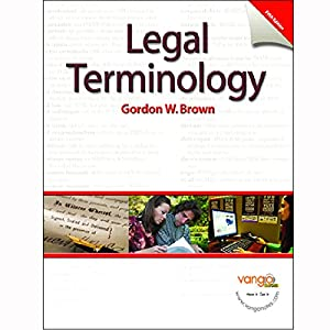 VangoNotes for Legal Terminology, 5/e Audiobook