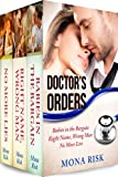 img - for Doctor's Orders Box Set (Babies in the Bargain, Right Name, Wrong Man, No More Lies) book / textbook / text book