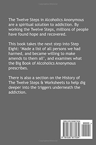 Worksheets Step 8 Worksheet In Recovery step 8 of the twelve steps alcoholics anonymous guide history worksheets 12860