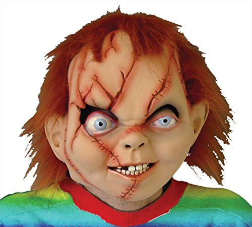 Chucky Seed Of Evil Bad Boy Doll Scary Latex Adult Halloween Costume Mask