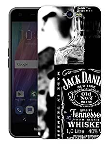 """Old Time Whiskey Printed Designer Mobile Back Cover For """"Google Infocus M812"""" By Humor Gang (3D, Matte Finish, Premium Quality, Protective Snap On Slim Hard Phone Case, Multi Color)"""