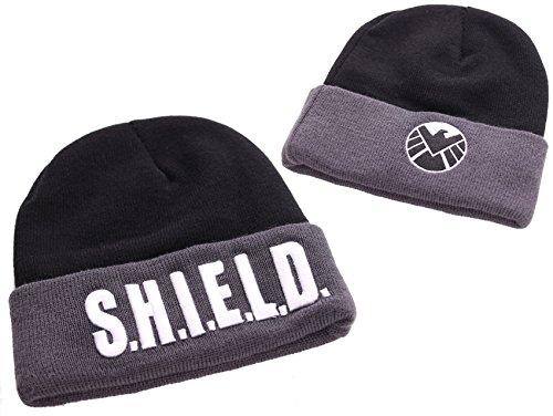 Marvel agents of S.H.I.E.L.D. Logo Emblème et bonnet