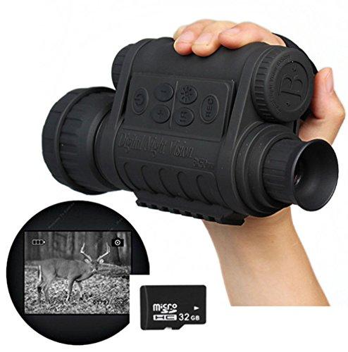 Boblov Bestguarder WG-50 Infrared Night Vision HD 720P IR Monocular Telescope
