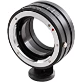Polaroid Bayonet Lens Mount Adapter, Canon EOS Lenses to the Canon EOS M Mirorless Camera Body