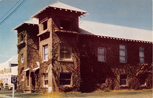 Yuba City California Masonic Temple General View Vintage Postcard V5578